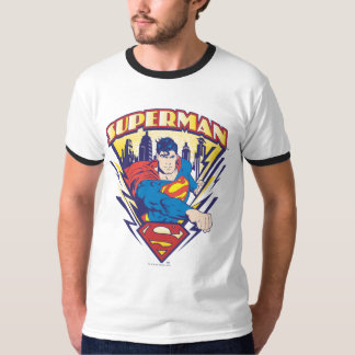 Superman with Electricity T-Shirt