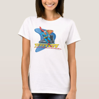 Superman with train - Color T-Shirt