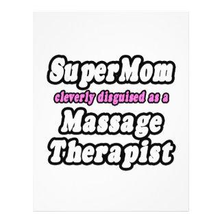 SuperMom...Massage Therapist Flyers