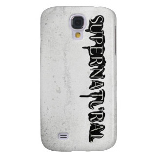 Supernatural Season 7 Title Card Galaxy S4 Case