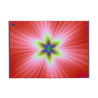 Supernova on Red Powis iCase Case For iPad Mini