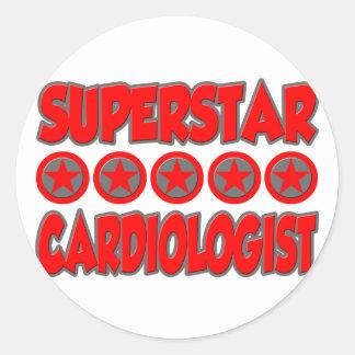 Superstar Cardiologist Stickers