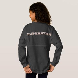 Superstar girl's jersey shirt