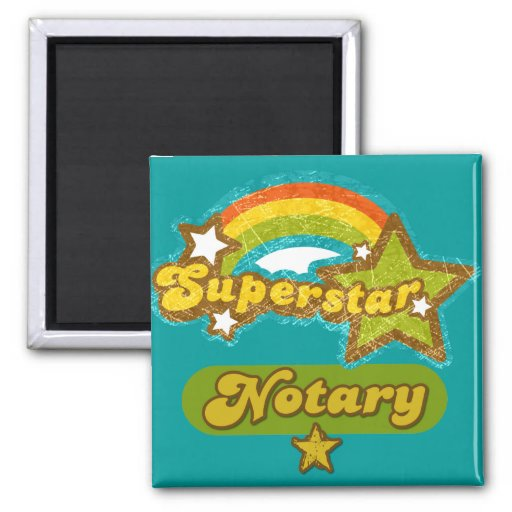 Superstar Notary Magnets