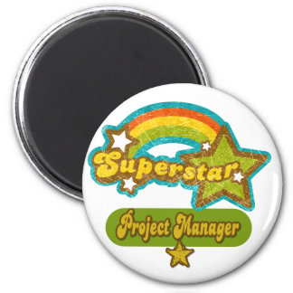 Superstar Project Manager Magnets