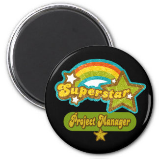 Superstar Project Manager Refrigerator Magnet