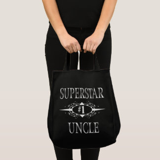 Superstar Uncle Gift Ideas Tote Bag