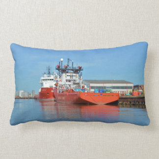 Supply Ships Energy Lord And Durga Devi Lumbar Cushion