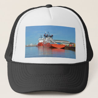 Supply Ships Energy Lord And Durga Devi Trucker Hat