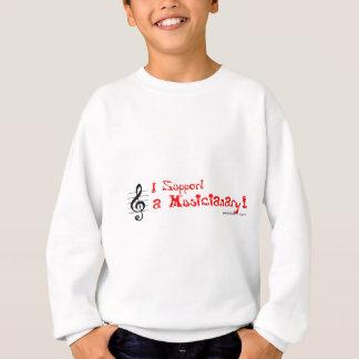 Support a Musicianary Sweatshirt