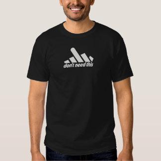 support black t-shirt