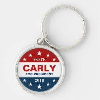 Support Carly Fiorina for President 2016 Key Ring