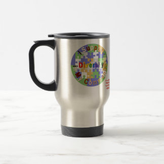 Support Community Diversity II Custom Travel Mug