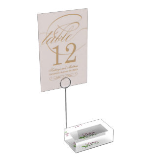 Support for Card Table Card Holder