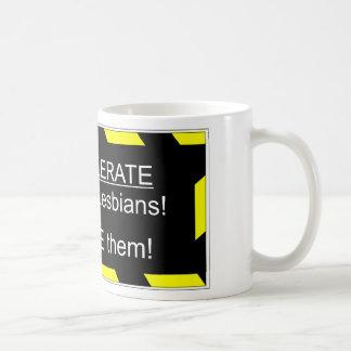 Support Gays and Lesbians Basic White Mug