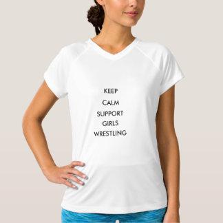 Support Girls Wrestling T-Shirt