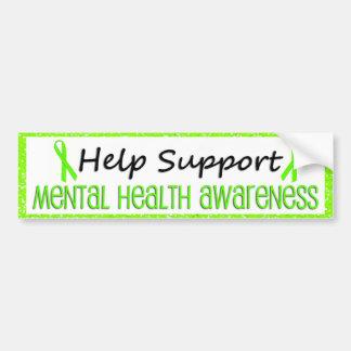 Support Mental Health Awareness Bumper Stickers
