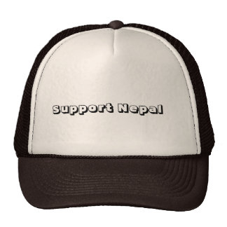 Support Nepal Cap