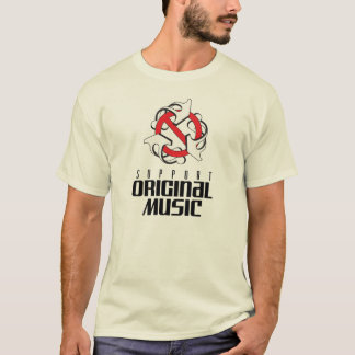 support orignal music t-shirt