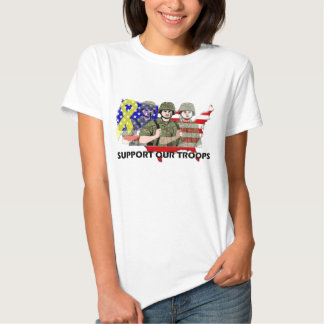 SUPPORT OUR TROOPS T SHIRT