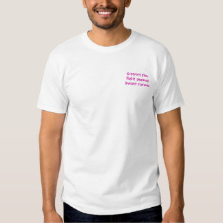 Support the fight against Breast C... - Customized Tee Shirts