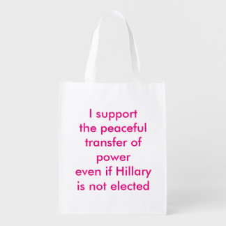 Support the Peaceful Transfer of Power