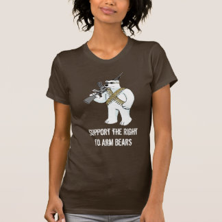 Support the Right to Arm Bears - Customized T-Shirt