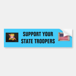 SUPPORT YOUR TROOPERS BUMPER STICKER