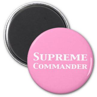 Supreme Commander Gifts 6 Cm Round Magnet