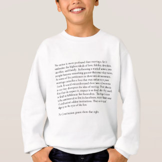 Supreme Court Justice Anthony Kennedy gay marriage Sweatshirt