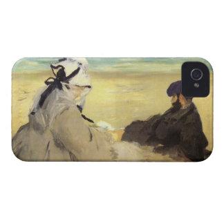 Sur la plage 1873 by Edouard Manet iPhone 4 Case