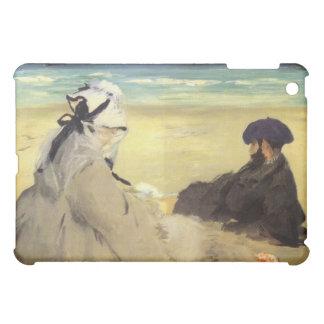 Sur la plage 1873 by Edouard Manet Case For The iPad Mini
