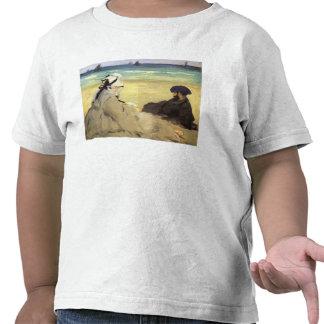 Sur la plage 1873 by Edouard Manet Shirt