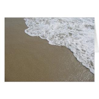 Surf at Belmar Beach Card