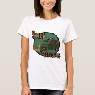 surf dreams lets go surfin in a woodie T-Shirt