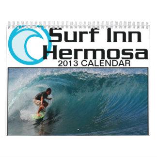 Surf Inn Hermosa 2013 Calendar