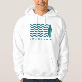 Surf San Diego County Hoodie