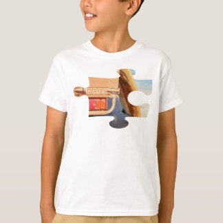 Surf surfboard insane surfing Sand and sea T-Shirt