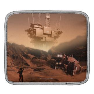Surface of Mars 2 iPad Sleeve