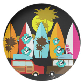 dinner plates nz surf. surfboards beach bum surfing surfer hippie vans dinner plate plates nz surf