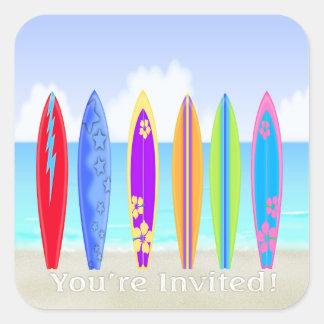 Surfboards Beach Envelope Seal