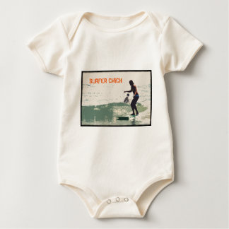 Surfer Chick Baby Bodysuit