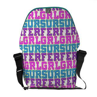 Surfer Girl Messenger Bag