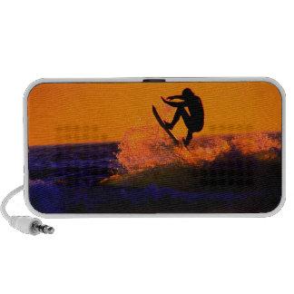 surfer sunset doodle travelling speaker