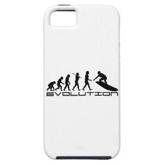 Surfer Surfing Sport Evolution Art Tough iPhone 5 Case