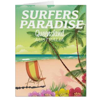 Surfers Paradise Queensland Australia Card