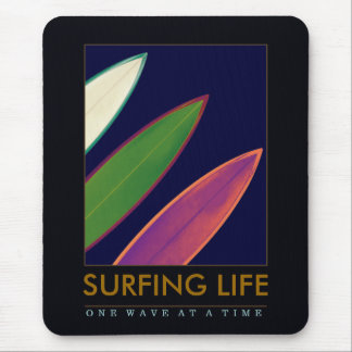surfing life style mouse pad