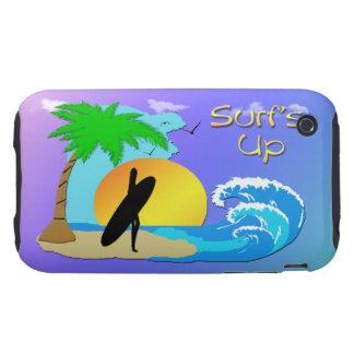 Surfs Up - Surfer Girl iPhone 3g Case-Mate Case