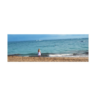 """Surfside Wanderer"" Fine Art Canvas Print"