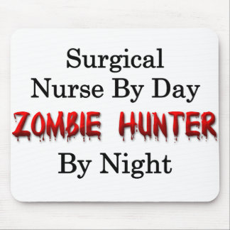 Surgical Nurse/Zombie Hunter Mouse Pad